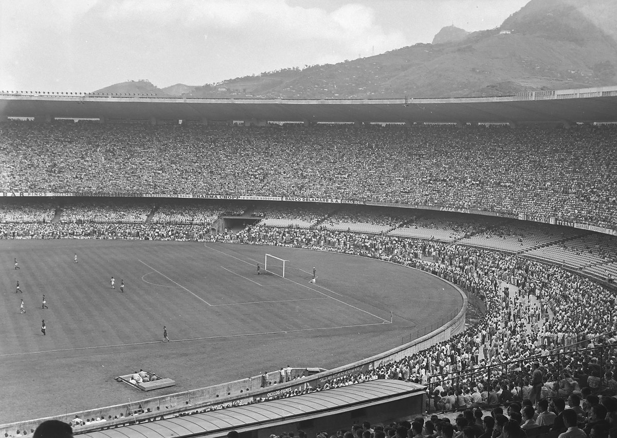Maracanazo - 1950 World Cup final game between Uruguay and Brazil.